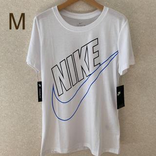 ナイキ(NIKE)のM☆ Tシャツ 薄手 NIKE  レディース 新品 ヨガ  白 ホワイト (Tシャツ(半袖/袖なし))