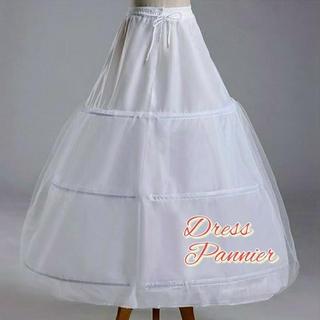 限定価格! 残り僅か お急ぎを! ドレス用ボリュームパニエ♪ 前撮り フォト婚に(その他)