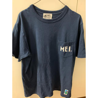 MEI Tシャツ 紺色