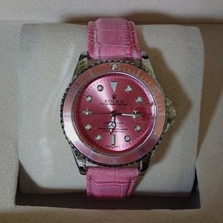 ROLEX - ❤️ とっても可愛い ピンクのファッション時計❤️
