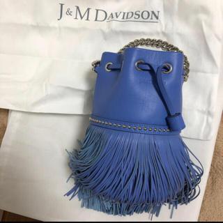 ジェイアンドエムデヴィッドソン(J&M DAVIDSON)の【新品未使用】希少カラー J&M DAVIDSON フリンジ カーニバル ミニ(ハンドバッグ)