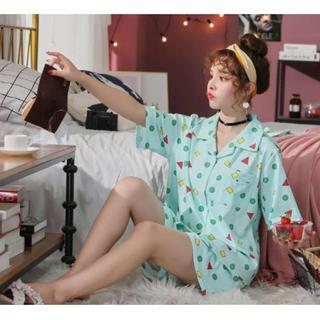 ★水色★♡新品♡ 即売れ パジャマ♪レディース 半袖 短パン 部屋着