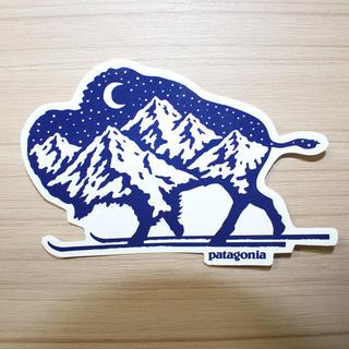 patagonia - パタゴニア ステッカー バッファロー冬