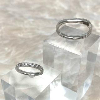 タサキ(TASAKI)の★TASAKI★ペアリング 結婚指輪 PT950(リング(指輪))