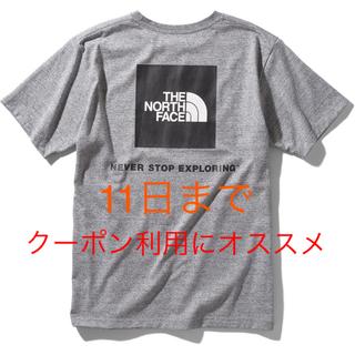THE NORTH FACE - THE NORTH FACE ノースフェイス スクエアロゴ Tシャツ グレー