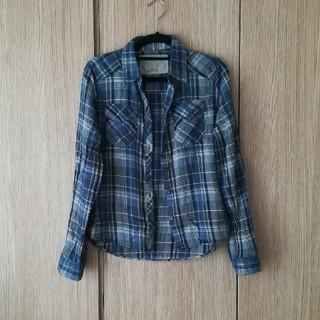 ドロシーズ(DRWCYS)のDRWCYS ドロシーズ チェックシャツ ブルー(シャツ/ブラウス(長袖/七分))