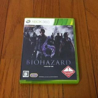 エックスボックス360(Xbox360)のXBOX360 バイオハザード6(家庭用ゲームソフト)