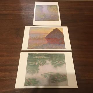 【3枚セット】モネ ポストカード(写真/ポストカード)