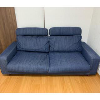 ムジルシリョウヒン(MUJI (無印良品))の無印良品ソファー(二人掛けソファ)