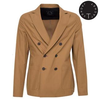 ボリオリ(BOGLIOLI)の【定価4.2万】TONELLO T-jacket ダブルジャケット 春夏(テーラードジャケット)