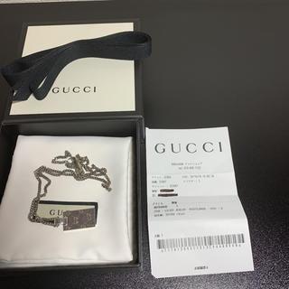 グッチ(Gucci)のGUCCI グッチ ネックレスペンダント GGゴーストGHOST(ネックレス)