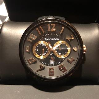 テンデンス(Tendence)の◎テンデンス◎ 人気モデル ブラック&ゴールド 時計(腕時計)