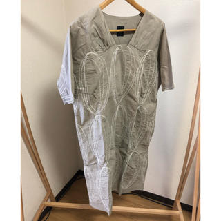 mina perhonen - ミナペルホネン light hole 刺繍ワンピース