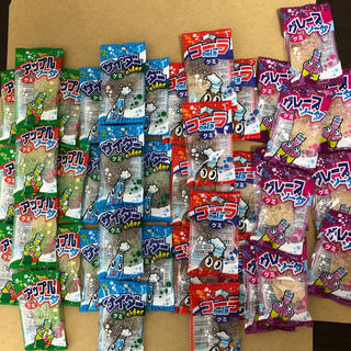 【駄菓子】ソーダグミ詰め合わせセット 各10個 4種類 グミ お菓子 だがし(菓子/デザート)