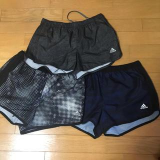 アディダス(adidas)のアディダス ランニング ショートパンツ☆アディダス3枚組(ウェア)