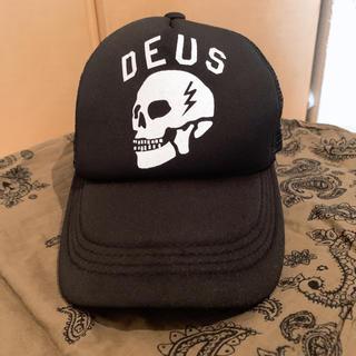 デウスエクスマキナ(Deus ex Machina)のDEUS スカル メッシュキャップ(キャップ)
