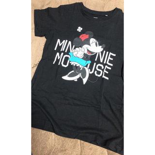 ユニクロ(UNIQLO)のユニクロ Tシャツ ミニー 黒(Tシャツ(半袖/袖なし))