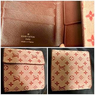 ルイヴィトン(LOUIS VUITTON)のルイ ヴィトン モノグラムミニ財布ポルトビエ モネ M92241 チェリー(財布)