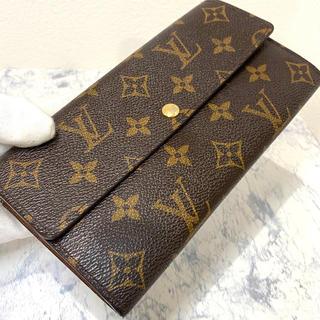 ルイヴィトン(LOUIS VUITTON)の美品!ヴィトン モノグラム ポルトフォイユ サラ 長財布(財布)