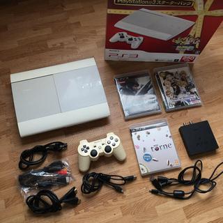 プレイステーション3(PlayStation3)のPS3本体、torne、ソフト2本(家庭用ゲーム機本体)