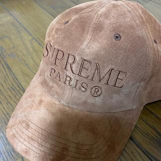 Supreme - supreme シュプリーム 6panl スエード キャップ boxlogo