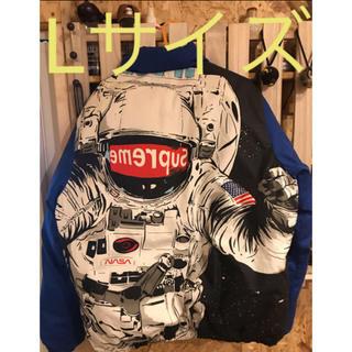 シュプリーム(Supreme)のSupreme astronaut puffy jacket Lサイズ(ダウンジャケット)
