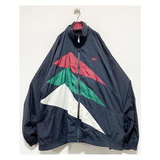 NIKE - 希少モデル vintage 90s Reebok 総柄 ロゴ ナイロンジャケット