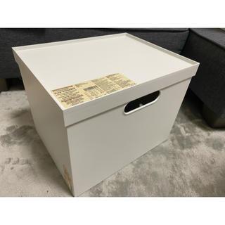 ムジルシリョウヒン(MUJI (無印良品))の無印 ファイルボックス 幅25cmタイプ フタ付き(ケース/ボックス)