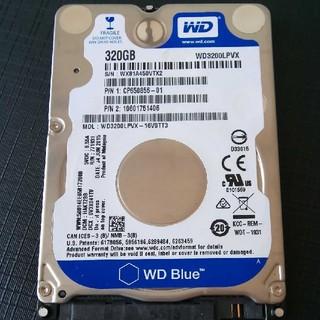 2.5インチ HDD 320GB ハードディスク ④(PCパーツ)