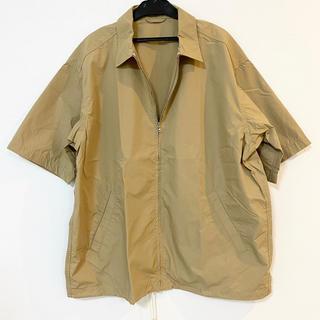 ニコアンド(niko and...)のniko and... ジップアップシャツ メンズ トップス 半袖 サイズ4(シャツ)
