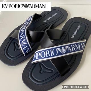 エンポリオアルマーニ(Emporio Armani)の美品❤️エンポリオアルマーニ EMPORIO ARMANI サンダル(サンダル)