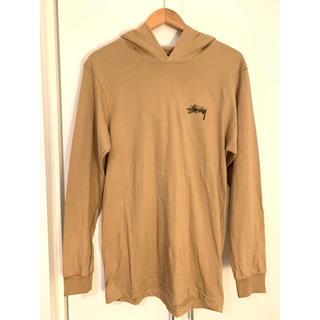 ステューシー(STUSSY)のSTUSSY/フード付きロングTシャツ(Tシャツ(長袖/七分))