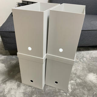 ムジルシリョウヒン(MUJI (無印良品))の無印 ファイルボックス(ケース/ボックス)