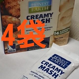 コストコ(コストコ)のコストコ クリーミー マッシュポテト 4袋(インスタント食品)