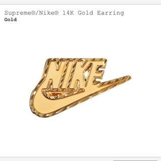 Supreme - Supreme Nike 14K Gold Earring イヤリング 片耳