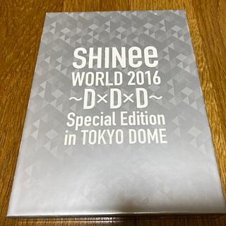 シャイニー(SHINee)のSHINee World2016 D×D×D ブルーレイ(ミュージック)