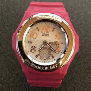 ジーショック(G-SHOCK)のG-SHOCK Baby-G BGA-100 ピンク(腕時計(デジタル))
