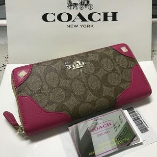 COACH - YKK製品 新品未使用 coach コーチ 長財布F53780
