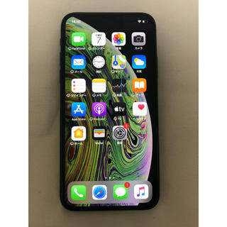 Apple - iPhone Xs 256GB SIMフリー すり傷あり