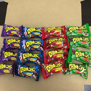【駄菓子】ロールキャンディ お菓子 各4個 合計16個 チューイングキャンディわ(菓子/デザート)