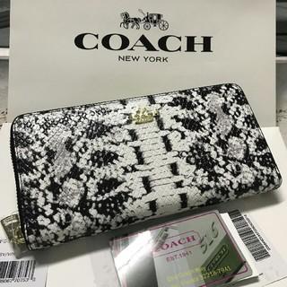 COACH - YKK製品 新品未使用 coach コーチ 長財布F53659