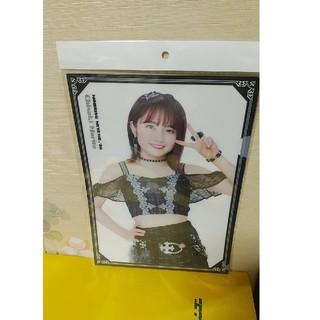 モーニングムスメ(モーニング娘。)のモーニング娘。20森戸知沙希 生写真付ソロビジュアルクリアファイル(クリアファイル)