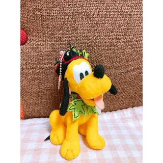Disney - プルート ぬいぐるみバッジ