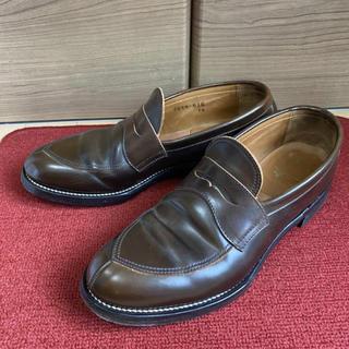 コールハーン(Cole Haan)の【半額】Makers メイカーズ V TIP 茶 ローファー 革靴 27.5cm(ローファー/革靴)