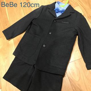 BeBe - べべ 入学式セットアップ5点セット ベスト付き