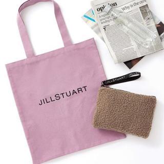 JILLSTUART - オトナミューズ 2018年12月号付録 ジルスチュアート トートバッグ&ポーチ