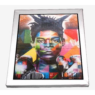 82-ジャン=ミシェル・バスキア Basquiat キャンバスアート 模写(ボードキャンバス)