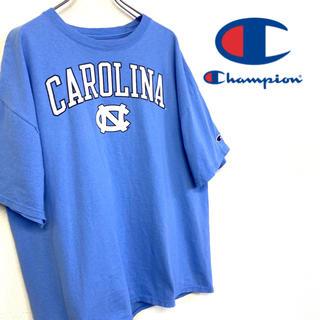 Champion - 美品 champion ノースカロライナ ロゴTシャツ
