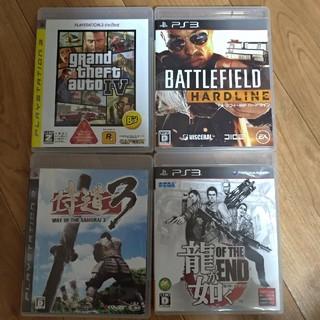 プレイステーション3(PlayStation3)のプレステ3 ソフト4点セット PS3(家庭用ゲームソフト)