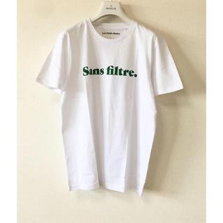 Drawer - 20ss ドゥロワー 別注 Les Petits Basics  ロゴTシャツ